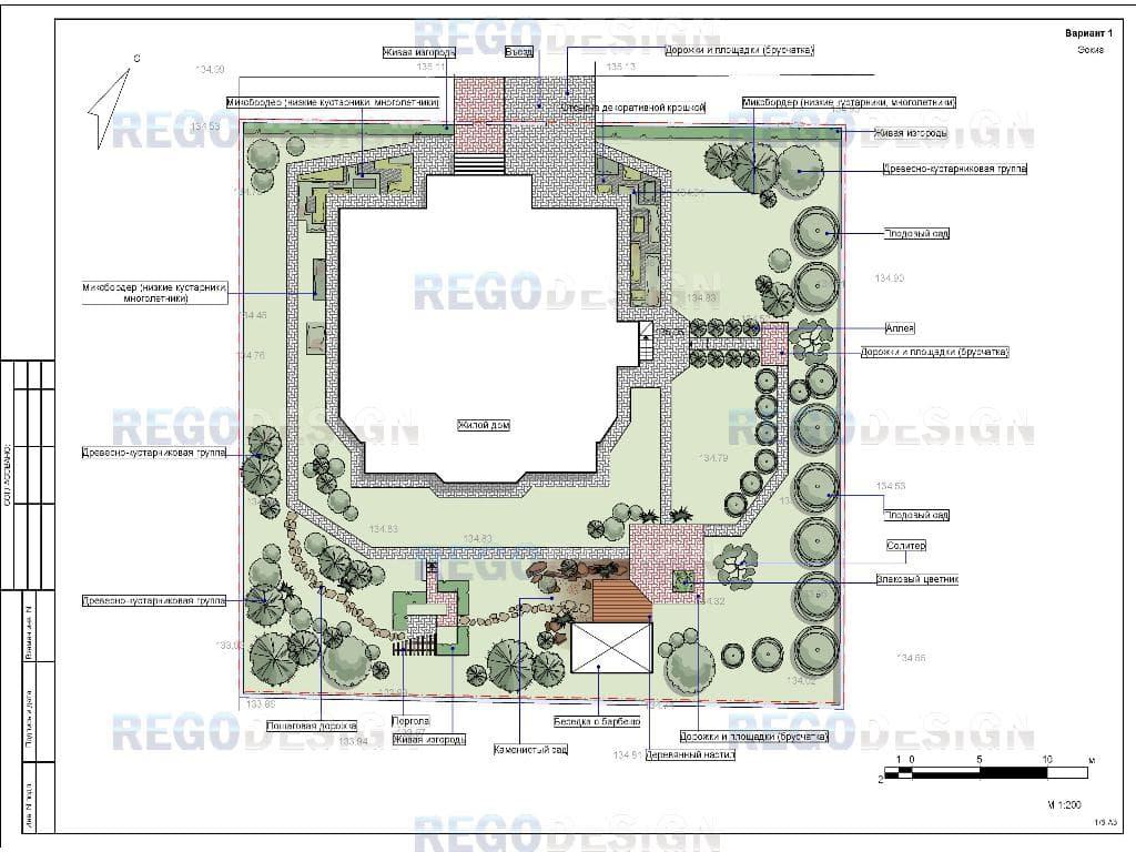 Ландшафтный дизайн загородного дома иркутск